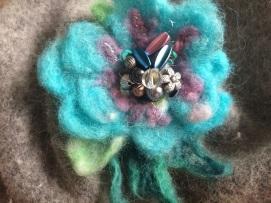 Beaded flower for workshop
