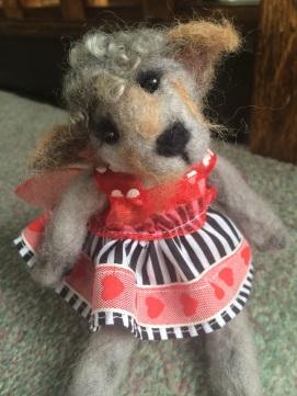 Little Felted Dog/ Teddy